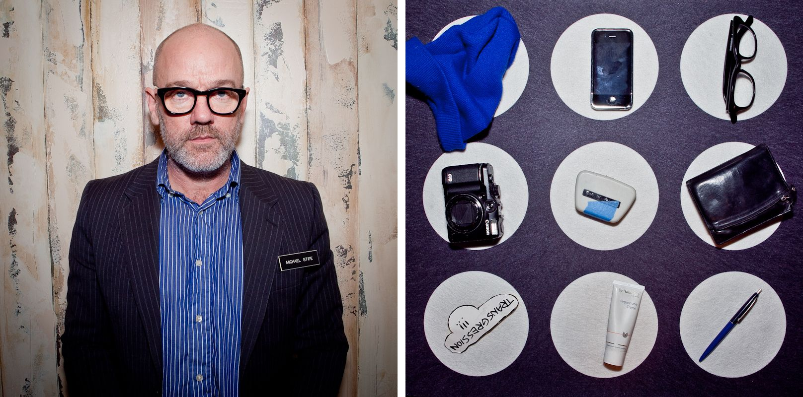 Scenes from 2011 CNN GRILL // Michael Stipe's Persona // Photo by Jason Travis