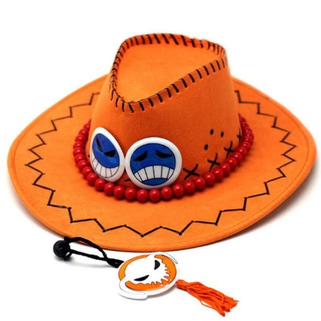 Photo of Anime D Ace Luffy Cosplay Cowboy hats – Ace hat
