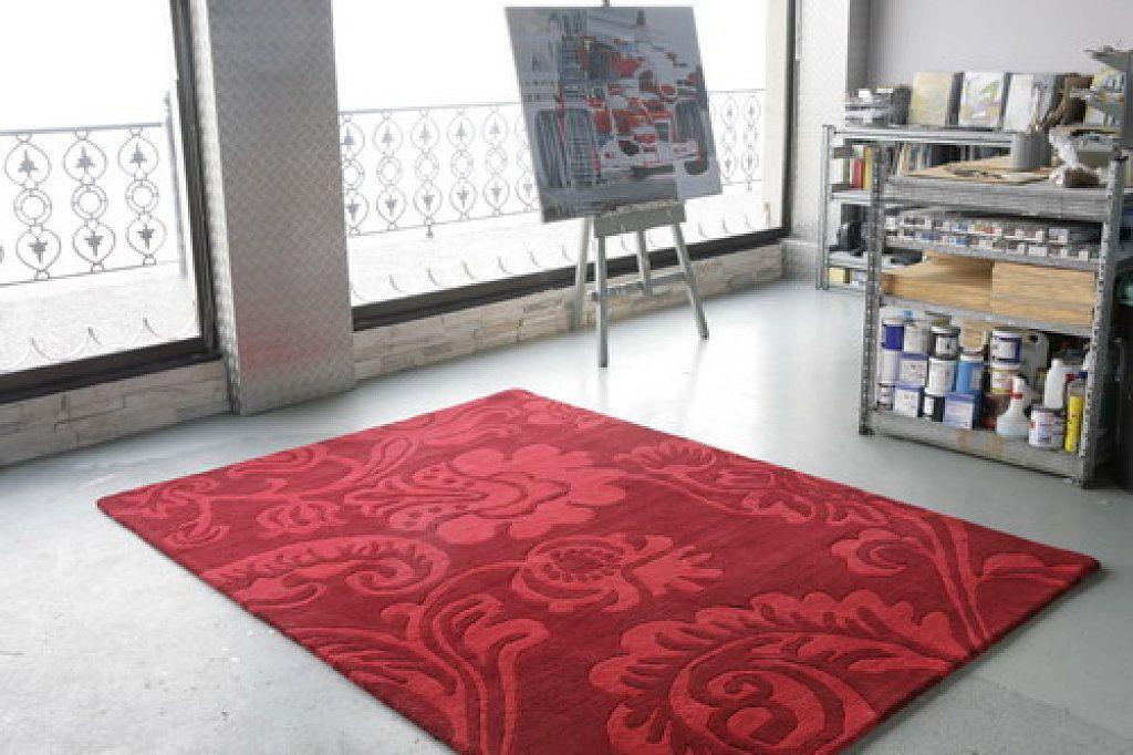 Salones con alfombras comedor con alfombra de fibra - Alfombra roja ikea ...