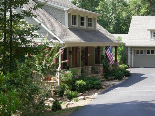 Detached Garage With Breezeway House Garage House Plans House Plans Cabin House Plans