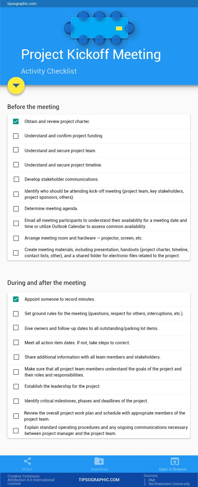 How to plan a project kickoff meeting an easy checklist for Betriebswirtschaft studium