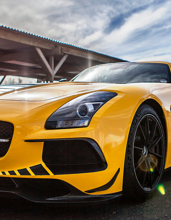 Mercedes Sls Black Series With Images Mercedes Sports