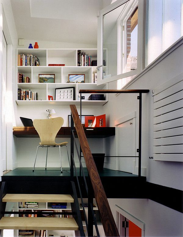 Merveilleux Modern Home Office In Loft   Decoist