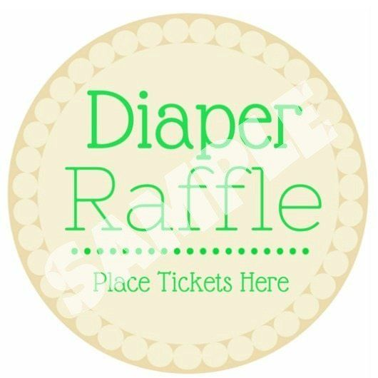 Free Diaper Raffle Tickets Printable There, Print and Diapers - free ticket printing