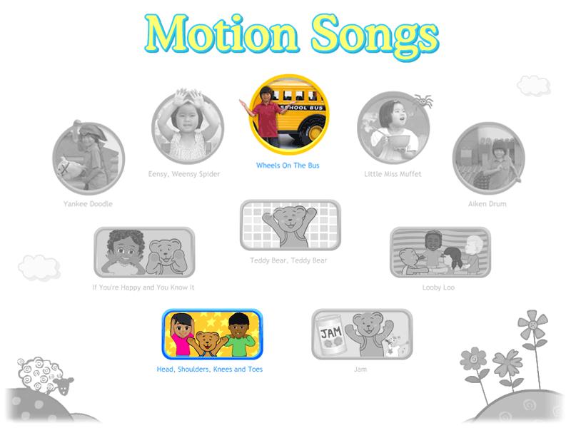 motion songs from wwwstarfallcom - Starfall Color