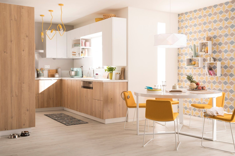 Cuisine Bois Au Style Scandinave Leroy Merlin Maison En