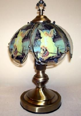 Guardian Angel Touch Lamp 2 Touch Lamp Angels Touch Cool Floor Lamps