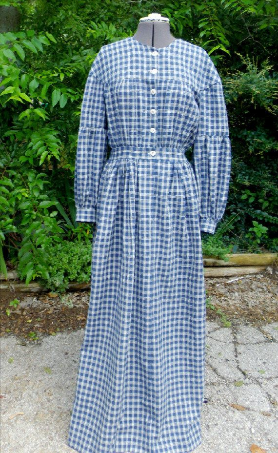 Women S Pioneer Prairie Dress Historical By Creationsbysena