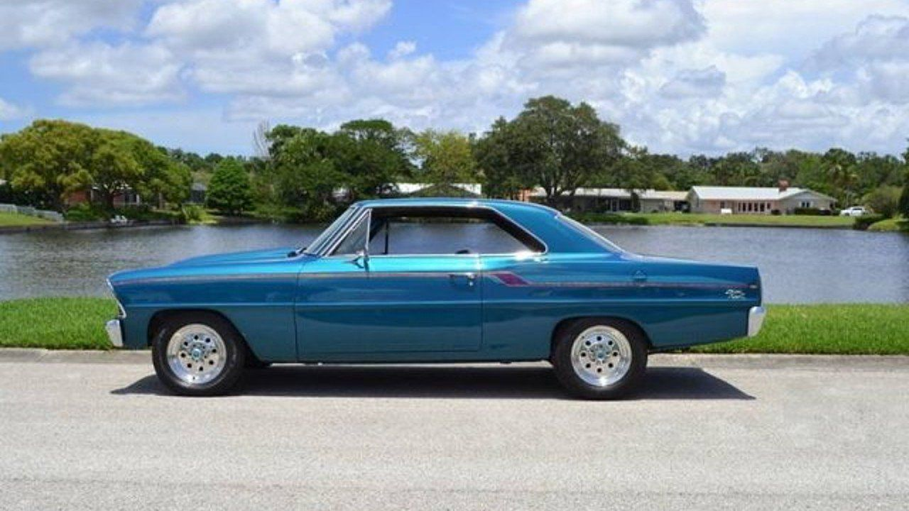 1967 Chevrolet Nova For Sale Near Clearwater Florida 33755