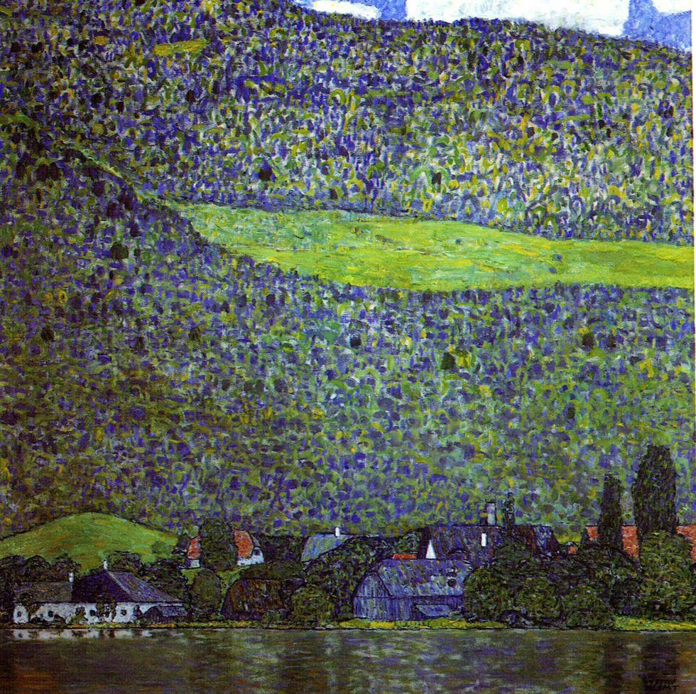 Schloss Kammer sullAttersee III 1910  Gustav Klimt