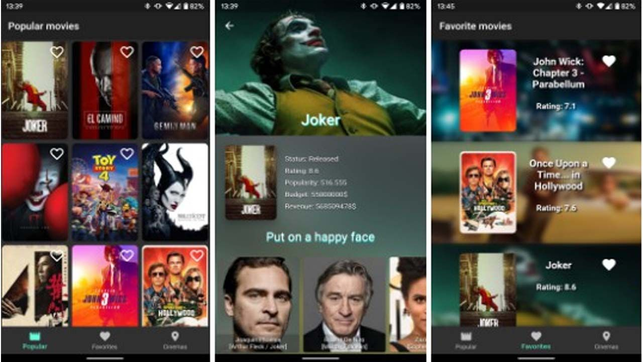 A Multiplatform App For Browsing New Movies And Fetching Nearest Cinemas New Movies Movies Now And Then Movie
