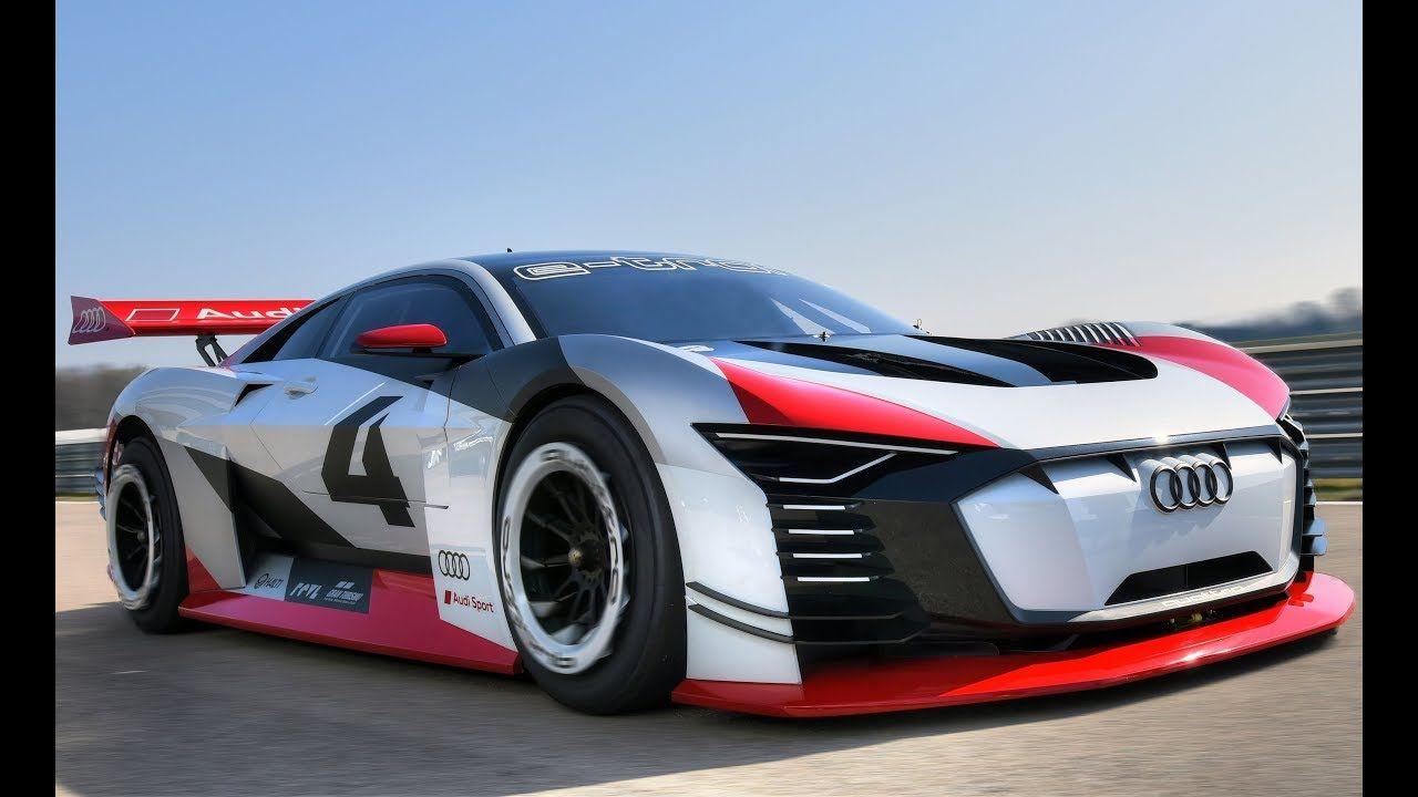 Audi etron Vision Gran Turismo Концептуальные машины