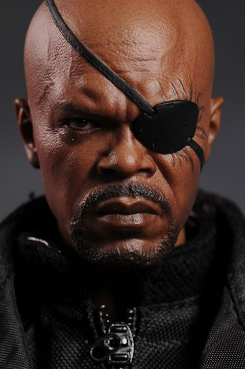 Avengers Nick Fury Sixth Scale Figure Nick Fury Action