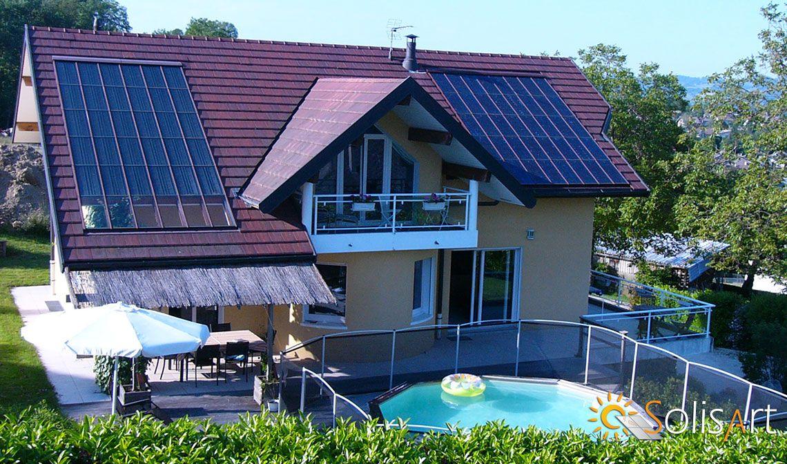 Maison BBC en Chauffage Solaire SolisConfort Energie du0027appoint - consommation energetique d une maison