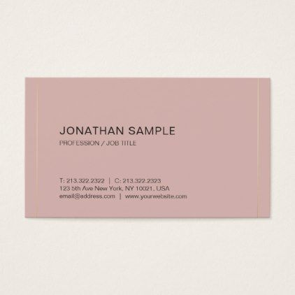 Modern stylish simple design plain luxe silk business card elegant modern stylish simple design plain luxe silk business card elegant gifts gift ideas custom presents colourmoves