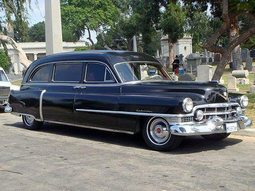 12a - Antique 1951 Cadillac Hearse (E) by Kansas Sebastian, via Flickr