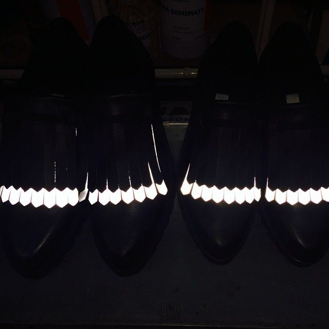 Excitement on the production line. Coming in stores first week of August #reflective #miistaproductionspain #miista