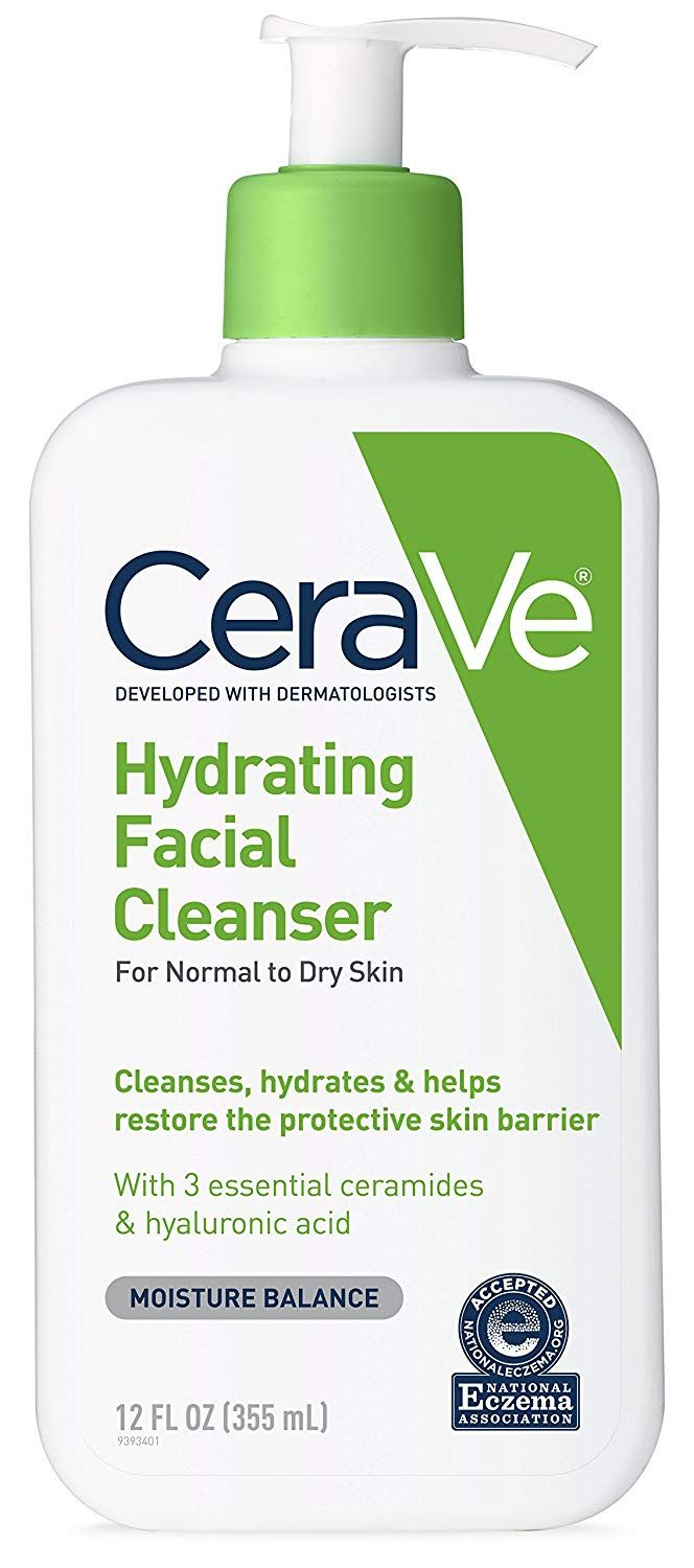 Cerave Hydrating Cleanser Cleanser For Sensitive Skin Face Wash Cleanser Face Cleanser
