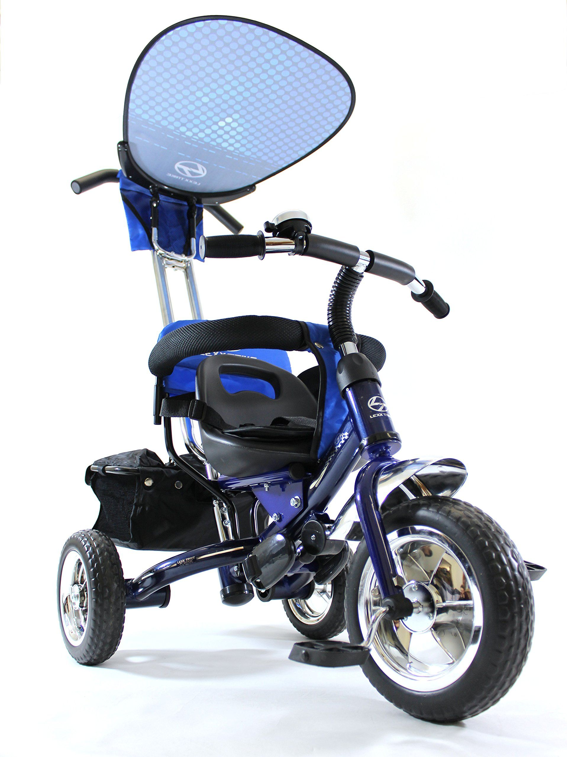 4in1 Lexx Trike Classic Smart Kidu0027s Tricycle 3 Wheel Bike Removable Handle u0026 Canopy ...  sc 1 st  Pinterest & 4in1 Lexx Trike Classic Smart Kidu0027s Tricycle 3 Wheel Bike ...