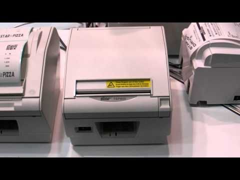 STAR TSP800 112mm A6 Thermal Printer   TSP800II Series