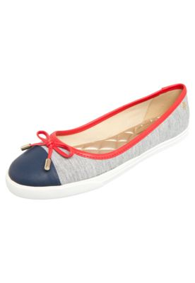 Petite Jolie Sapatilha Petite Jolie Belle Fun Navy Cinza  R$ 99,90