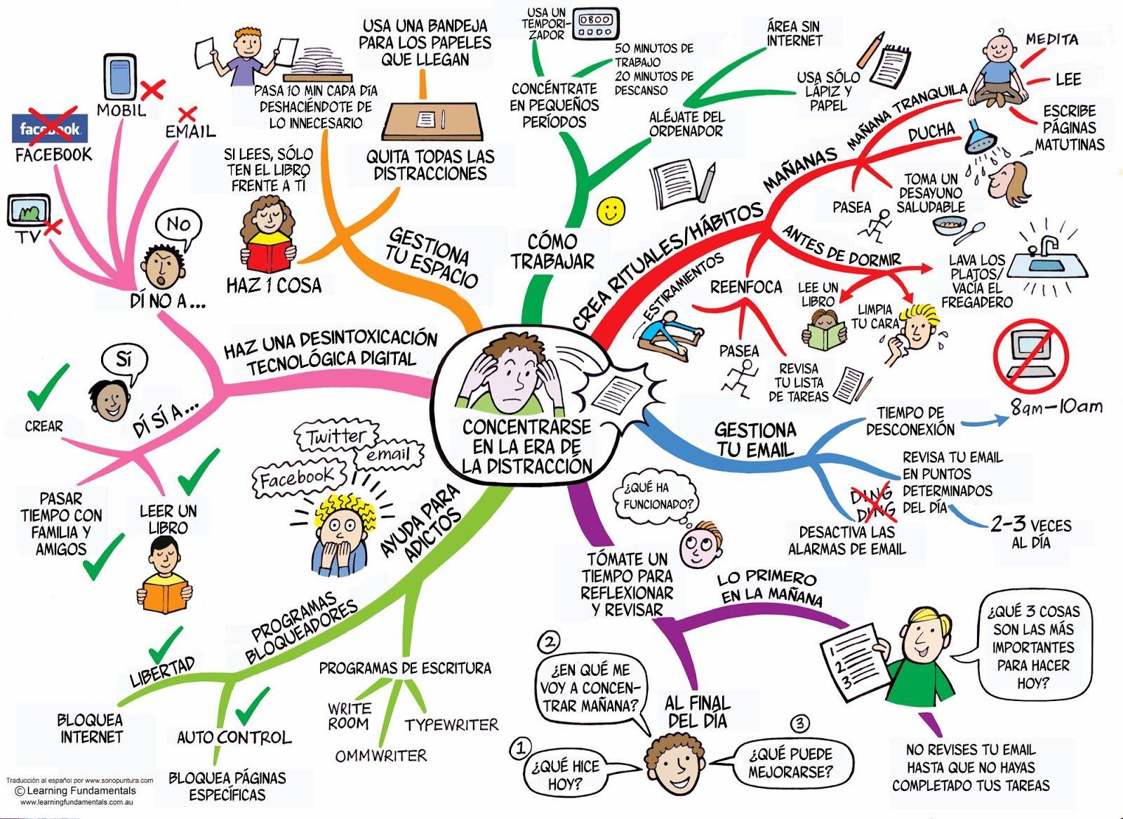 D ficit de atenci n en adultos estrategias no farmacol gicas coaching mindfulness actividad - Como concentrarse en estudiar ...