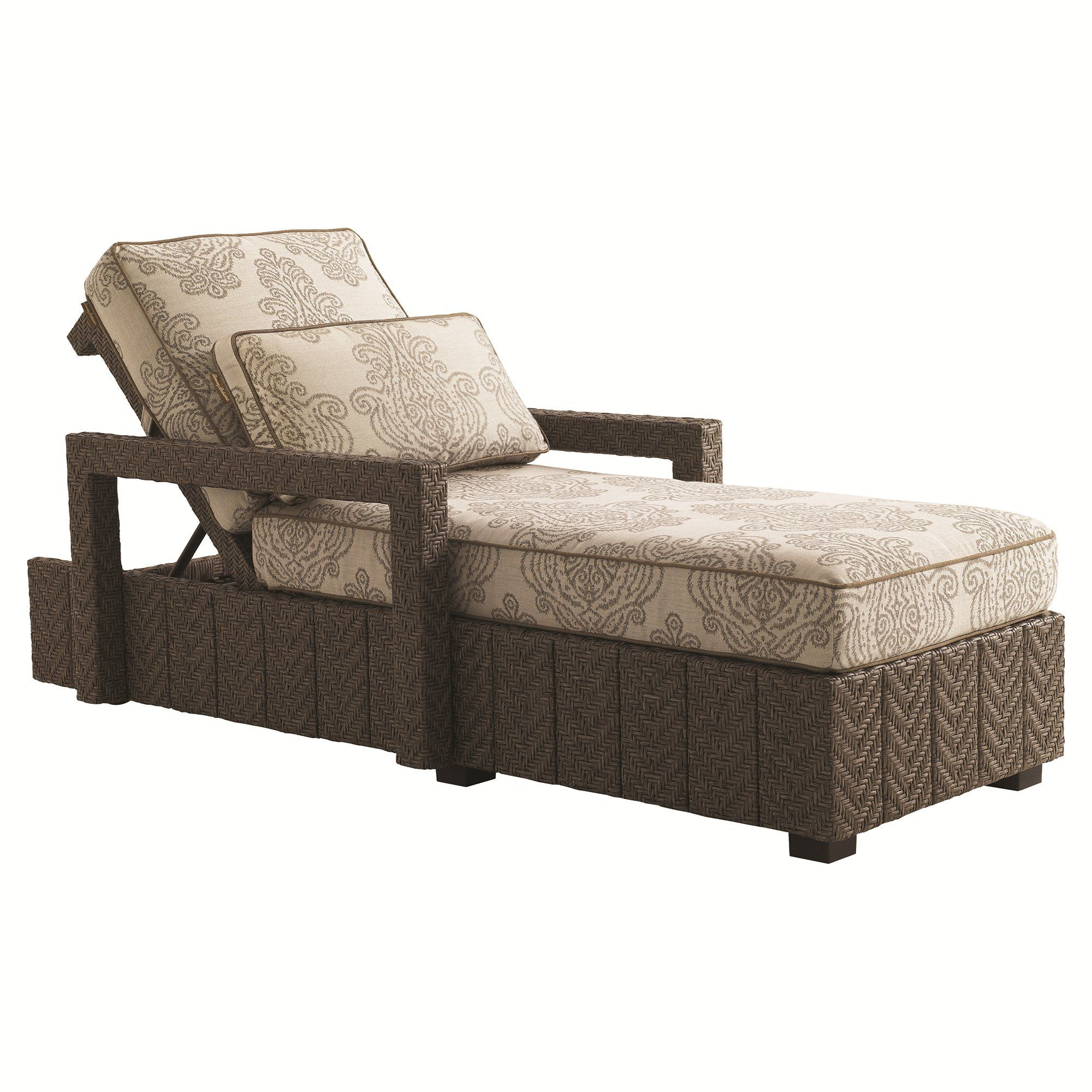 lexington blue olive chaise lounge 3230 75 tommy bahama outdoor