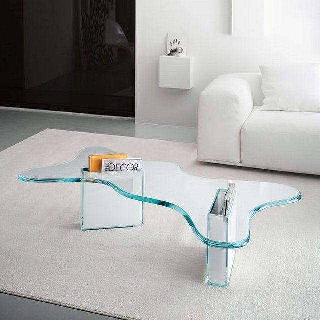Splash Table By Karim Rashid Contemporary Glass Coffee Tables Furniture Design Modern Glass Furniture