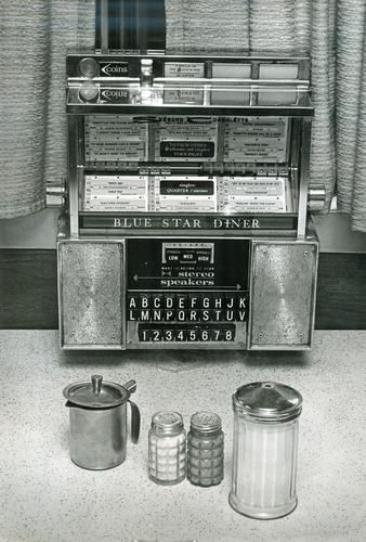This 1978 photo shows a table side jukebox inside the Blue Star Diner in Newport News.