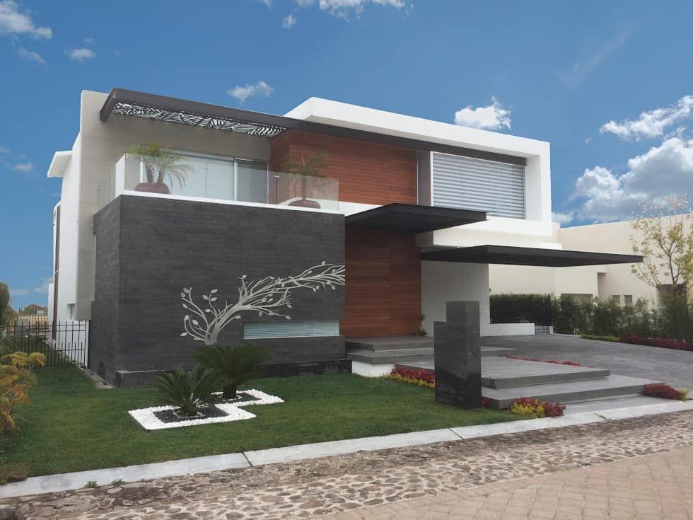 Fotos de casas de estilo moderno fachada dise o for Arquitectura y diseno de casas modernas