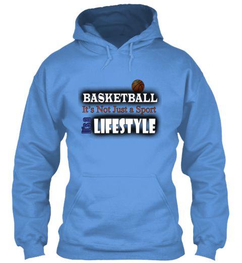 Basket Lifestyle Carolina Blue T-Shirt Front