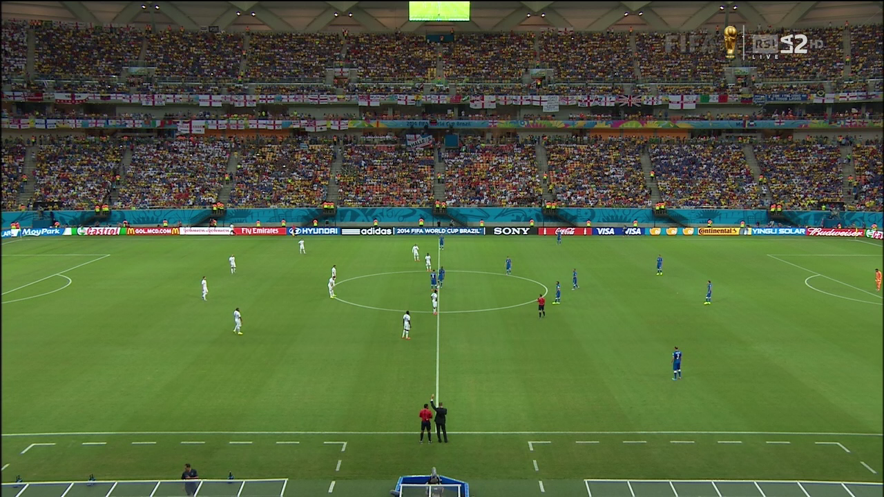 ITALY vs England Brasil World Cup