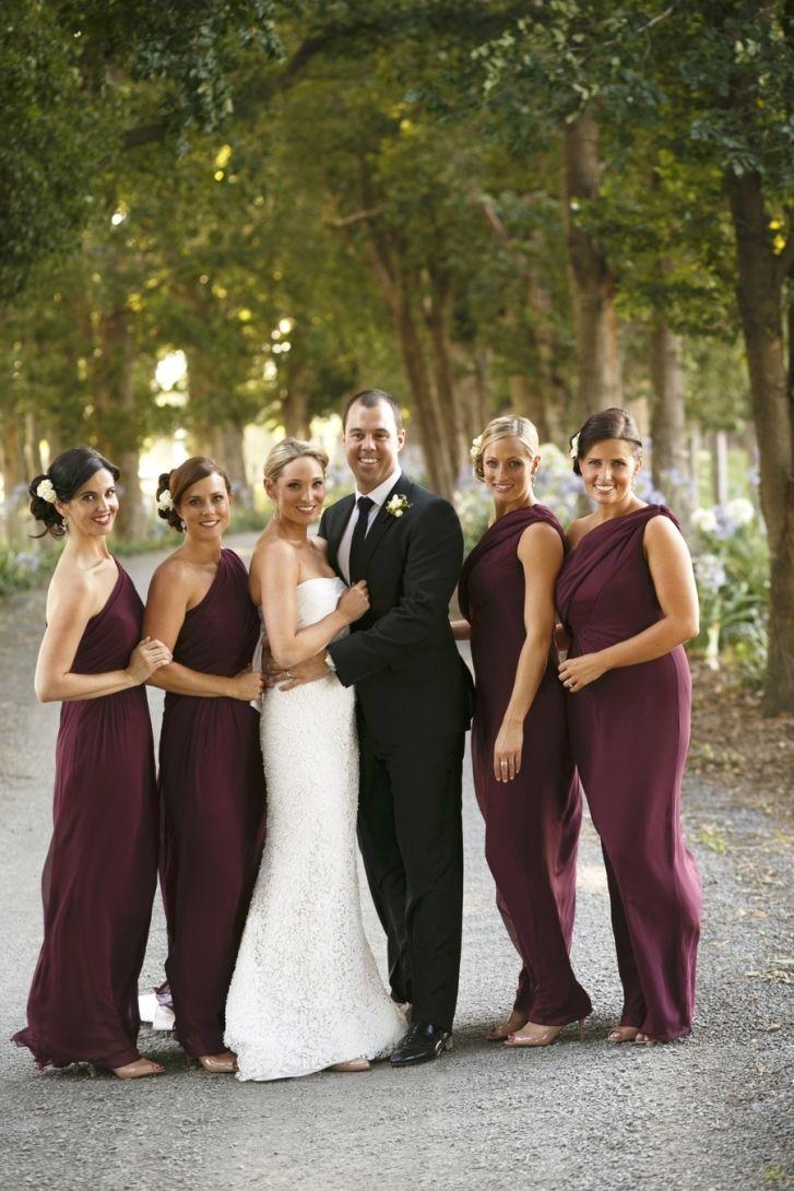 Burgundy Bridesmaid Dresses Perfect Choice For Fall Wedding