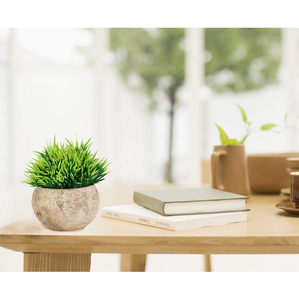 The Bloom Times Fake Plant For Bathroom Home Decor Small Artificial Faux Greenery For House Decorations Potted Bathroom Plants Fake Plants Decor Faux Plants