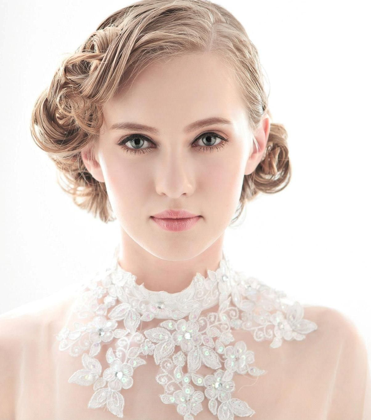 Bridal hairstyles for short hair simple hairstyle ideas for women