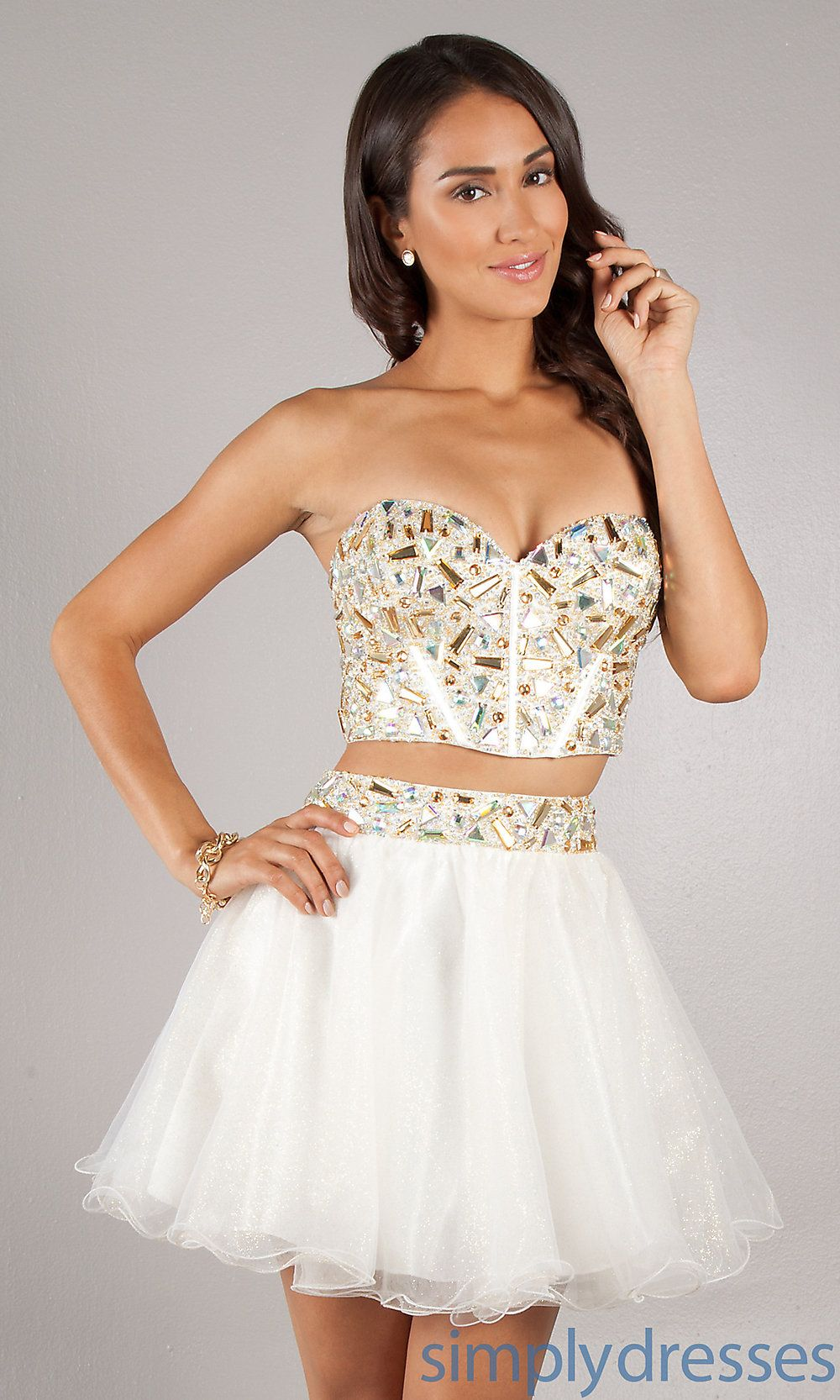 Urabian Sweet Sixteen Short Dresses