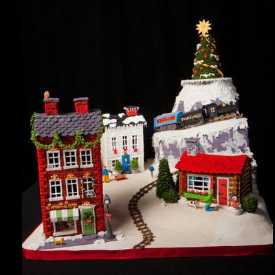 Winning Gingerbread Contest Categories   ... Gingerbread House Competition - Teen 2nd Place Winning Entry 2012