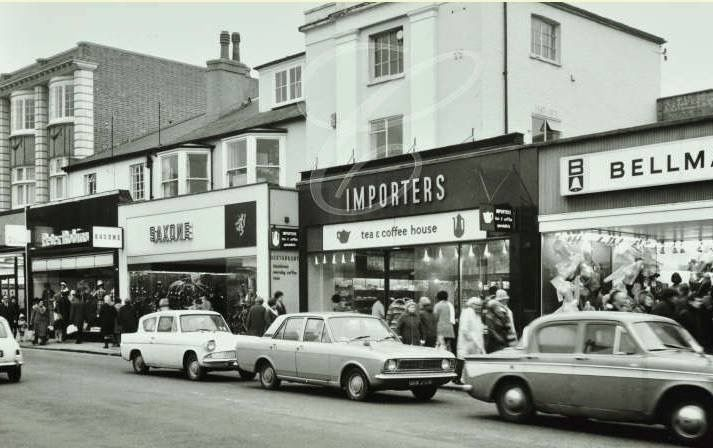 Coffee Importers Shop In Bromley Kent England