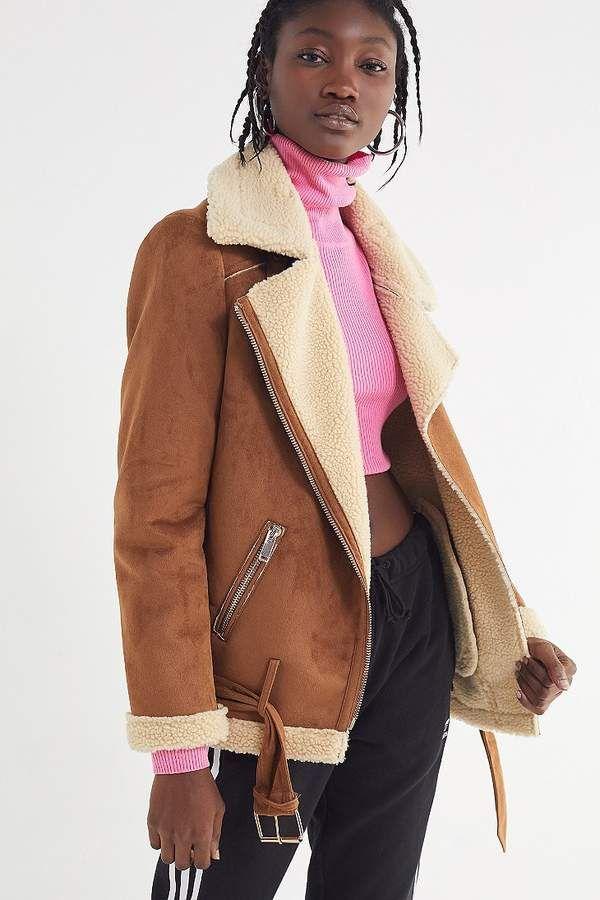 Urban Outfitters Athena Aviator Jacket  d431d2c7e