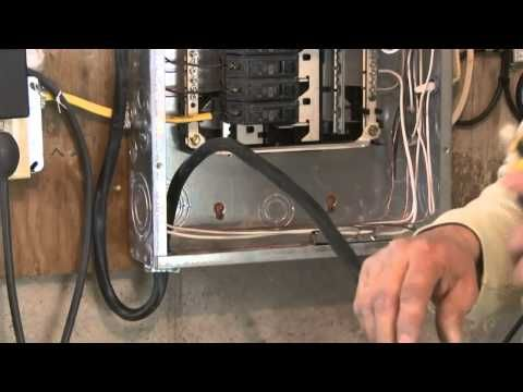 How to Upgrade an Electrical Panel to 200-Amp Service - This ... Old House Electrical Wiring on