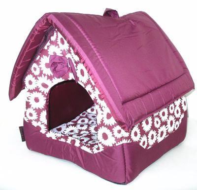Домик для кошек Догман Будка средняя микс 35х35х39см
