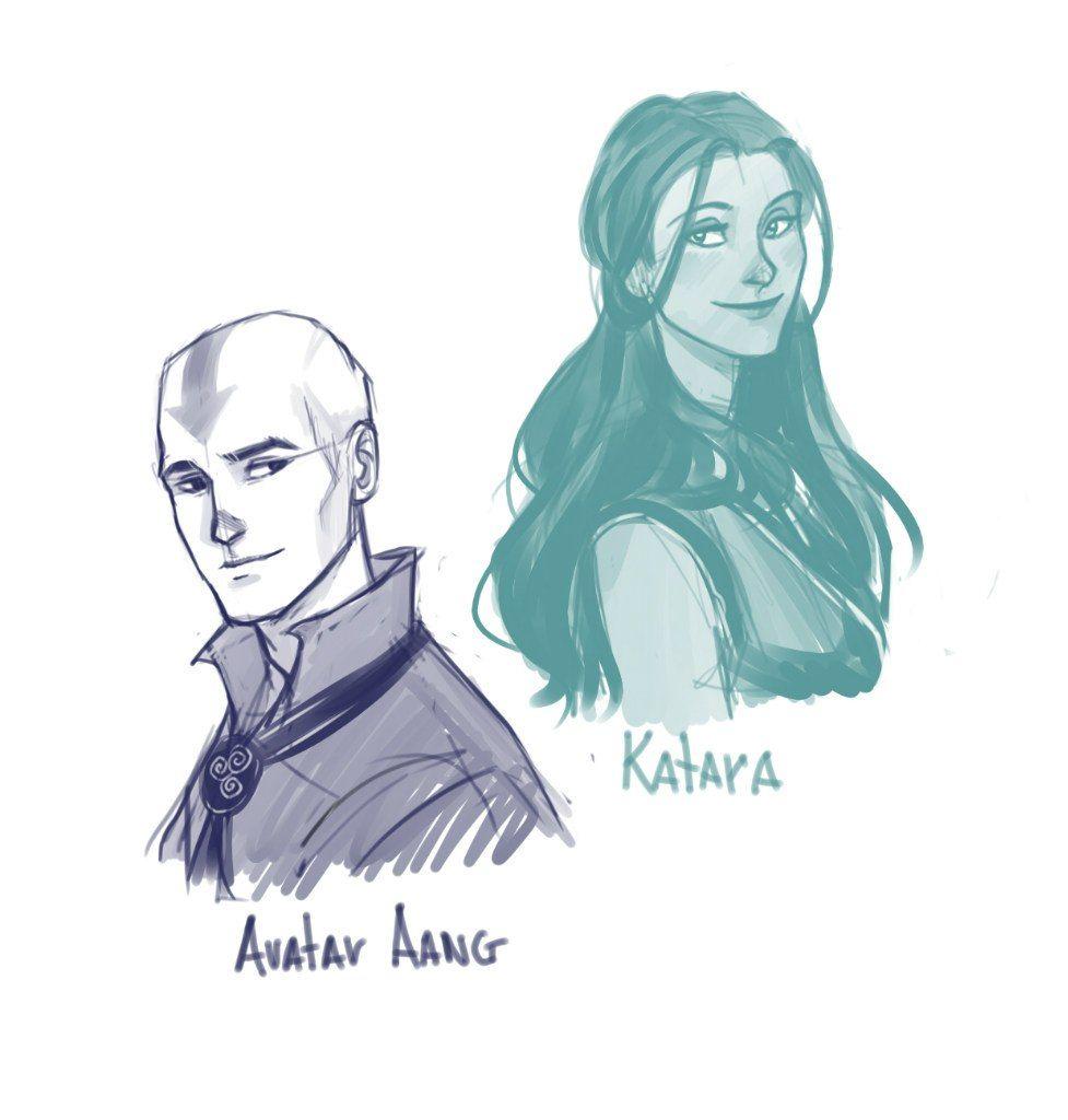 Avatar Aang and Katara