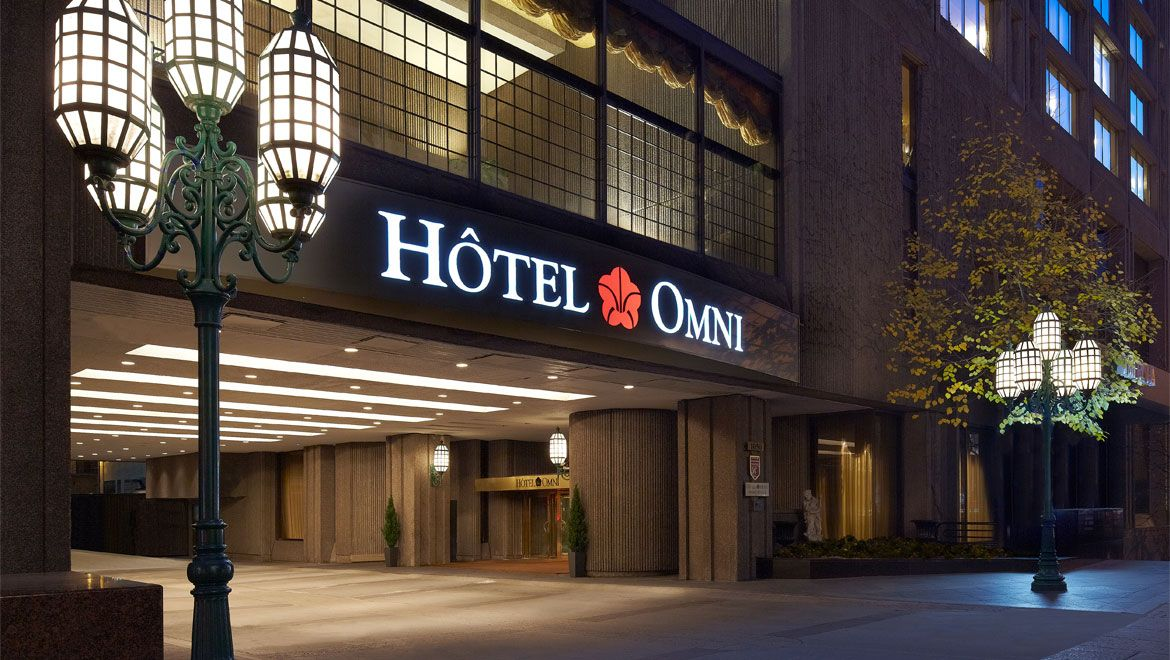 Omni Mont Royal Hotel Montreal Quebec With Images Downtown