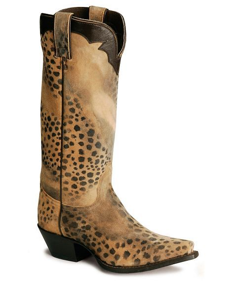 leopard boots! Love these!!!!