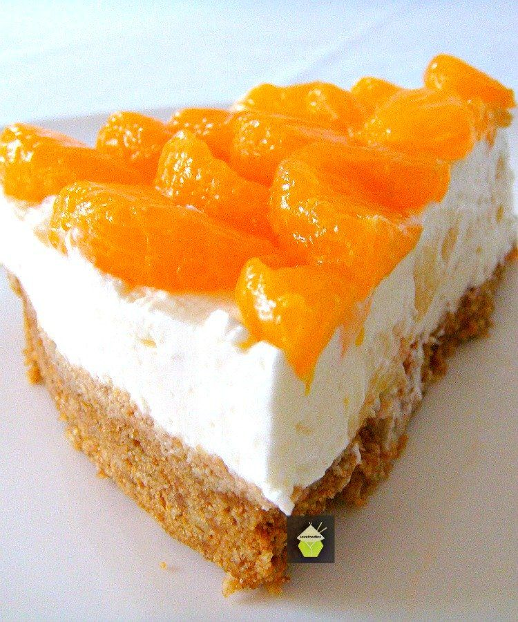 Here's a simple yet delicious cheesecake bursting with juicy mandarins on the top and chunks of pineapple in the filling. It's a really refreshing cheesecake, and even better, it's No Bake!