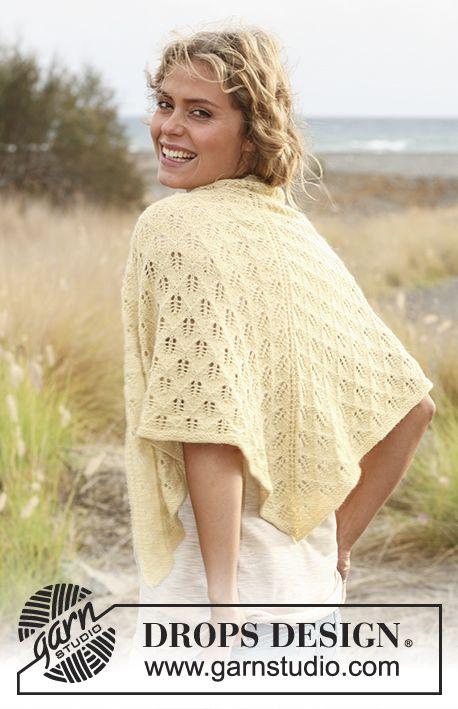 Free knitting pattern   pasta   Pinterest   Chal, Patrones y Puntos