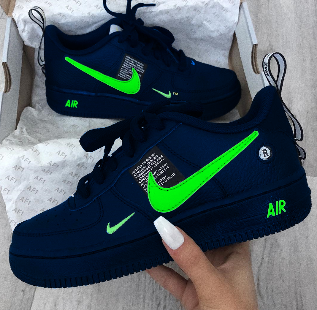 Nike Air Force 1 Custom Nike Shoes Fresh Shoes Hype Shoes