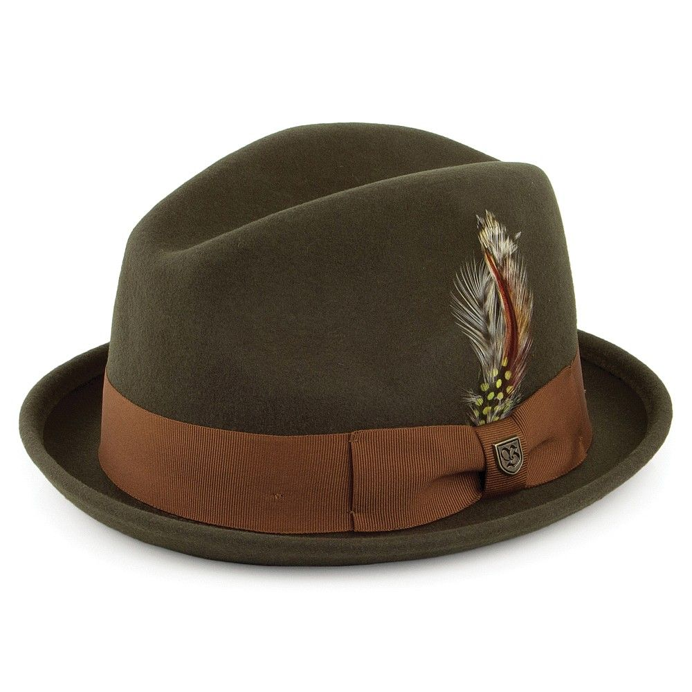 a102a445af35cc Brixton Hats Gain Trilby Hat - Forest £55 | pants-a-make-her-dance ...