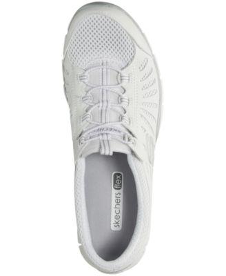 Skechers Women S Gratis Big Idea Walking Sneakers From Finish Line White 5 Skechers Women Walking Sneakers Skechers