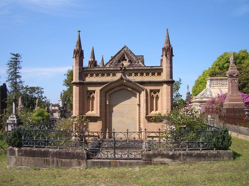 Family Vault    Rookwood Cemetery, Sydney | Old Gravestones